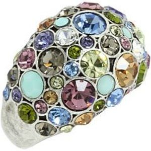 Fossil Multi Color Cocktail Ring